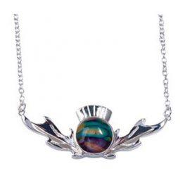 heathergem thistle pendant hp93