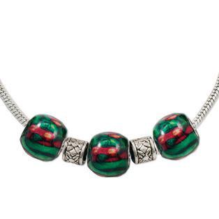 heathergem multi bead pendant hp63