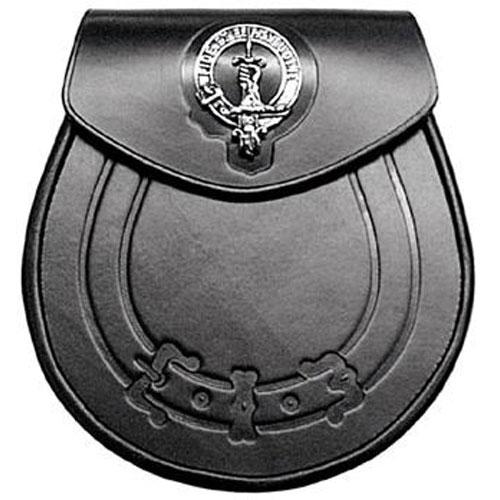 Clan-Crest-Leather-Sporran-MSL1031
