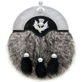 Gray-Rabbit-Dress-Sporran-MSF1020
