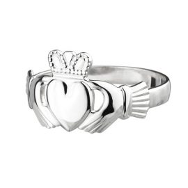 Maids Standard Claddagh Ring Sterling Silver S2280