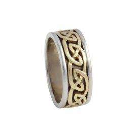 Blair Celtic Knot Ring Large 14kt Gold KELKAR07L