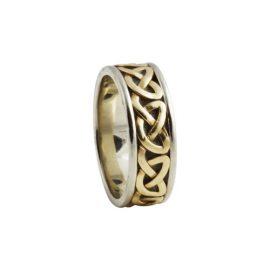Heart Celtic Knot Ring Small 14kt Gold KELKAR03S