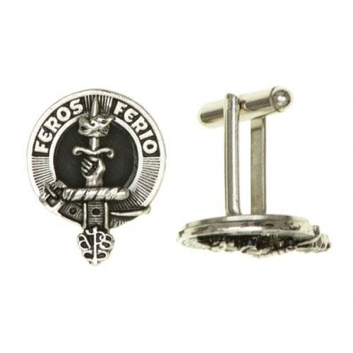 Clan Crest Cufflinks Pewter APSC999