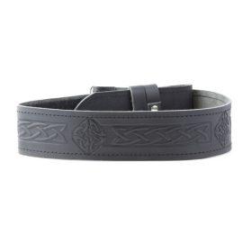 Black-Leather-Belt-Celtic-Design