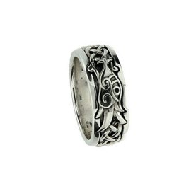 Dragon Sterling Silver Ring PRX7263