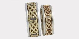Gold Celtic Knot Rings