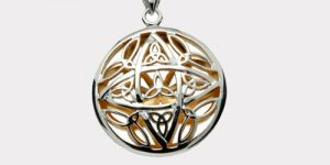 Gold and Sterling Silver Pendants