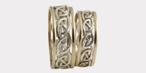 Silver & Gold Wedding Rings