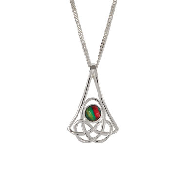 heathergem celtic pendant