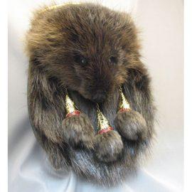 Beaver-Full-Mask-Sporran-MSF1014A