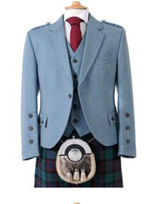 cluny lovat jacket with vest