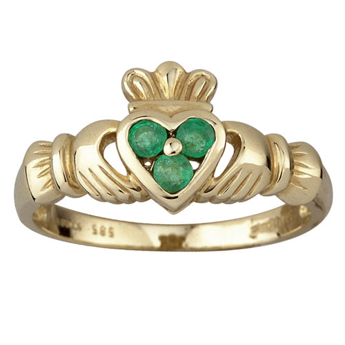 3-Emerald-Heart-Claddagh-Gold-Ring-S2466