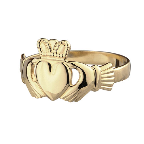 Ladies-Claddagh-Ring-10kt-Yellow-Gold-S2526