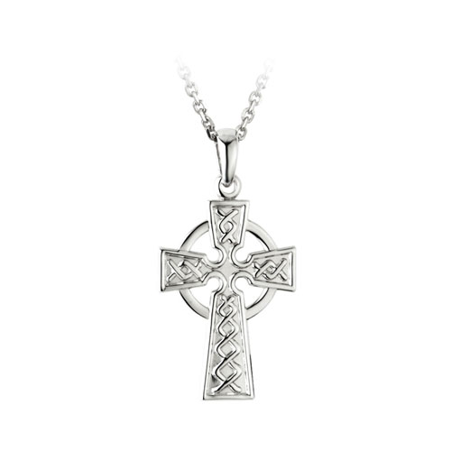 Celtic Cross Small Sterling Silver S4392