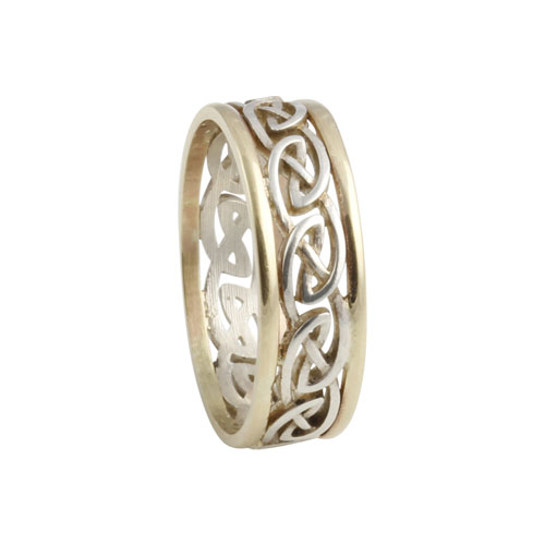 Best Silver & Gold Celtic Knot Rings – The Highland Shoppe WS34