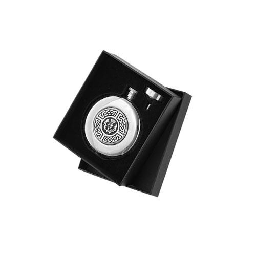 celtic-thistle-round-5oz-hip-flask