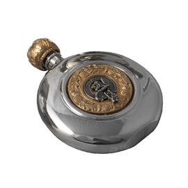 clan-crest-round-sporran-flask-polished-pewter-gtflask
